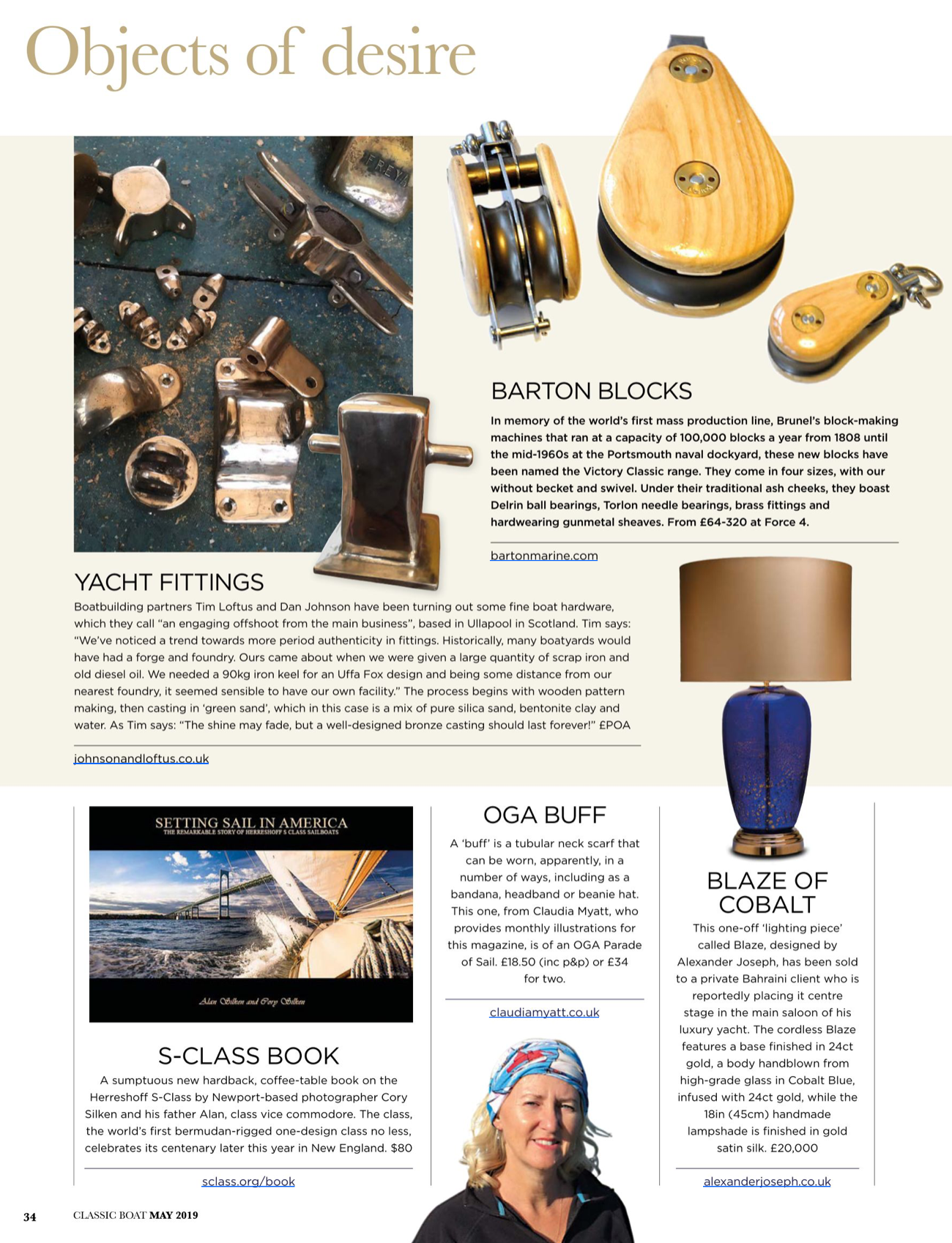 Classic Boat - May 2019
